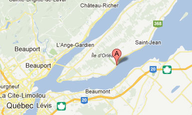Le Moulin de Saint-Laurent sur Google Maps